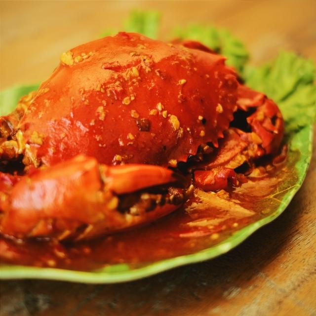 Kepiting Saos Padang (IDR 31.000/Ons)