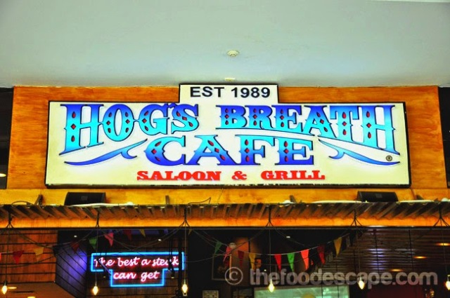 Hogs Breath Tibeca Central Park  Jakarta Indonesia